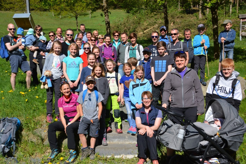 Familienwanderung des Skiclubs