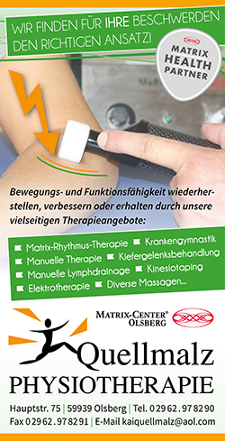 Quellmalz Physiotherapie in Bigge